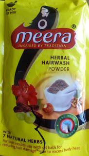 Indie: pierwsze mycie proszkiem Meera