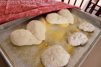 Baking Heart-Shaped Loaves - 5