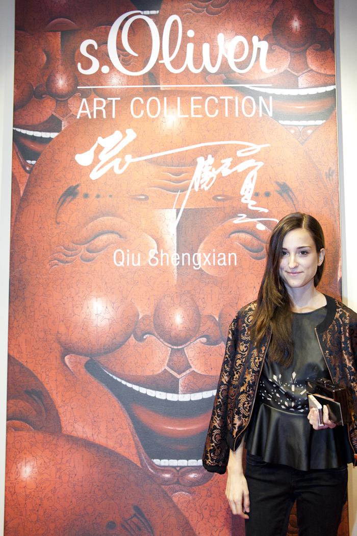 size 7 undefeated x pick up magnifique: s.Oliver x Qui Shengxian