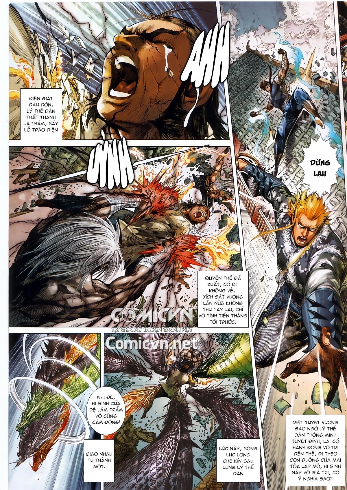 Thiết Tướng Tung Hoành chap 245 - Trang 14