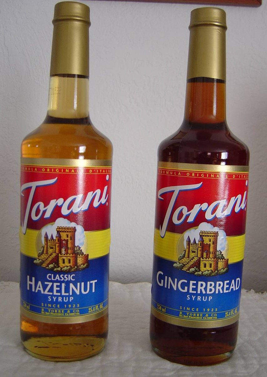 Torani Flavored Coffeehouse Syrups