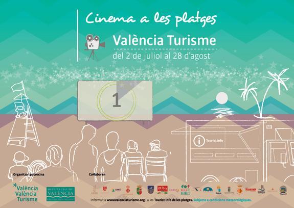 Cine en las playas - ValenciaTurisme