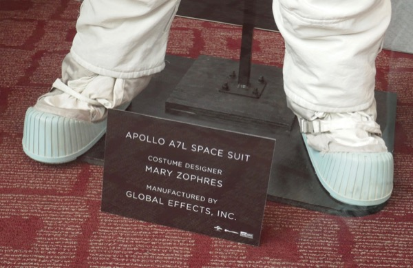 Neil Armstrong First Man Apollo A7L spacesuit boots