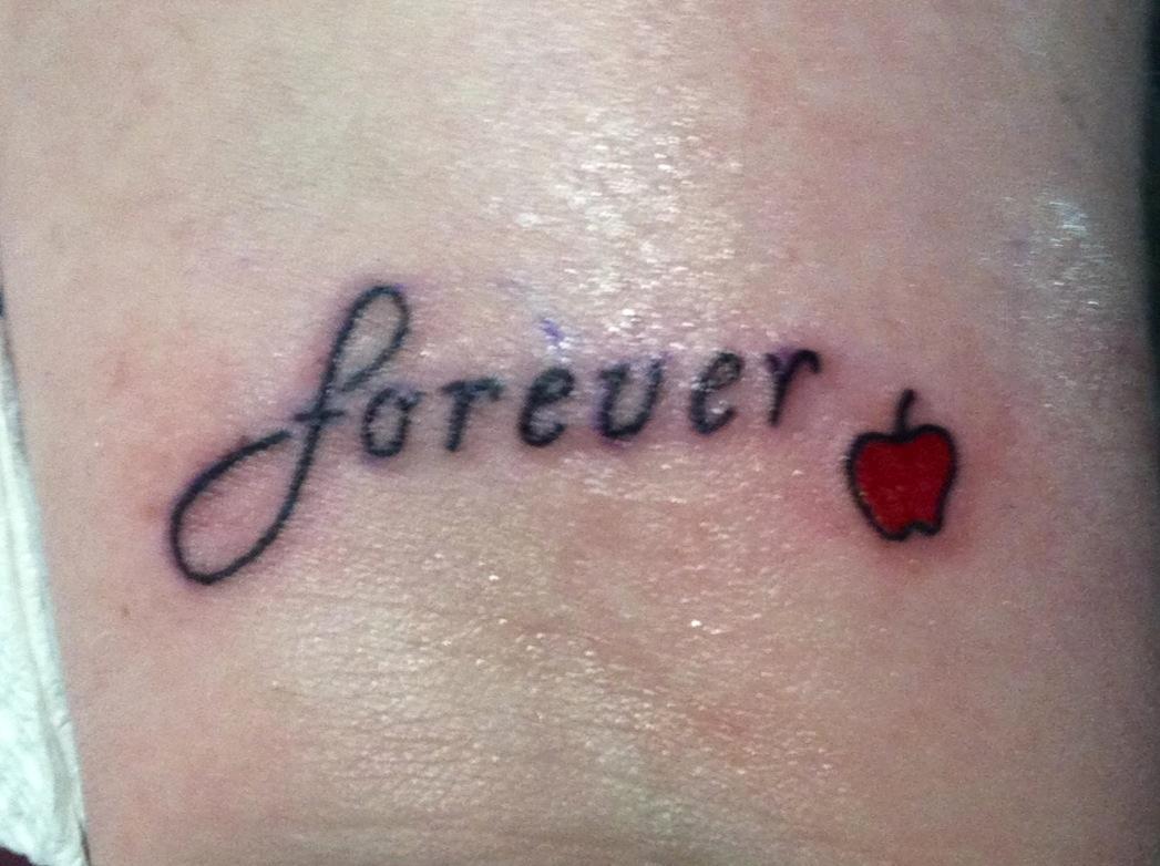 d09259c37 Twilight Saga Inspired Tattoos: FOREVER | APPLE