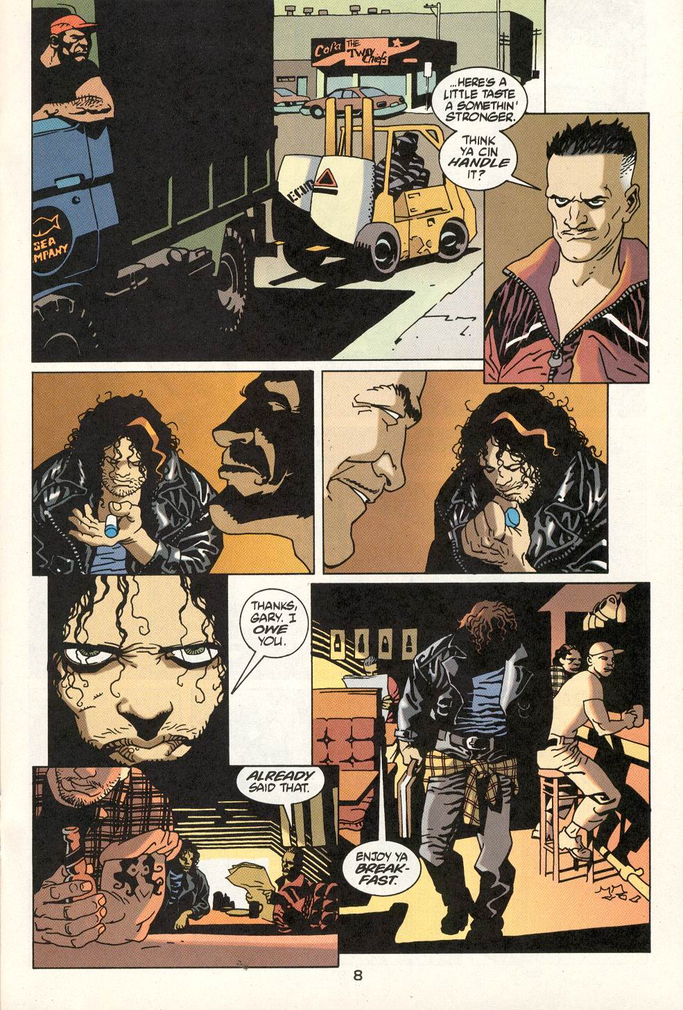Read online 100 Bullets comic -  Issue #22 - 9