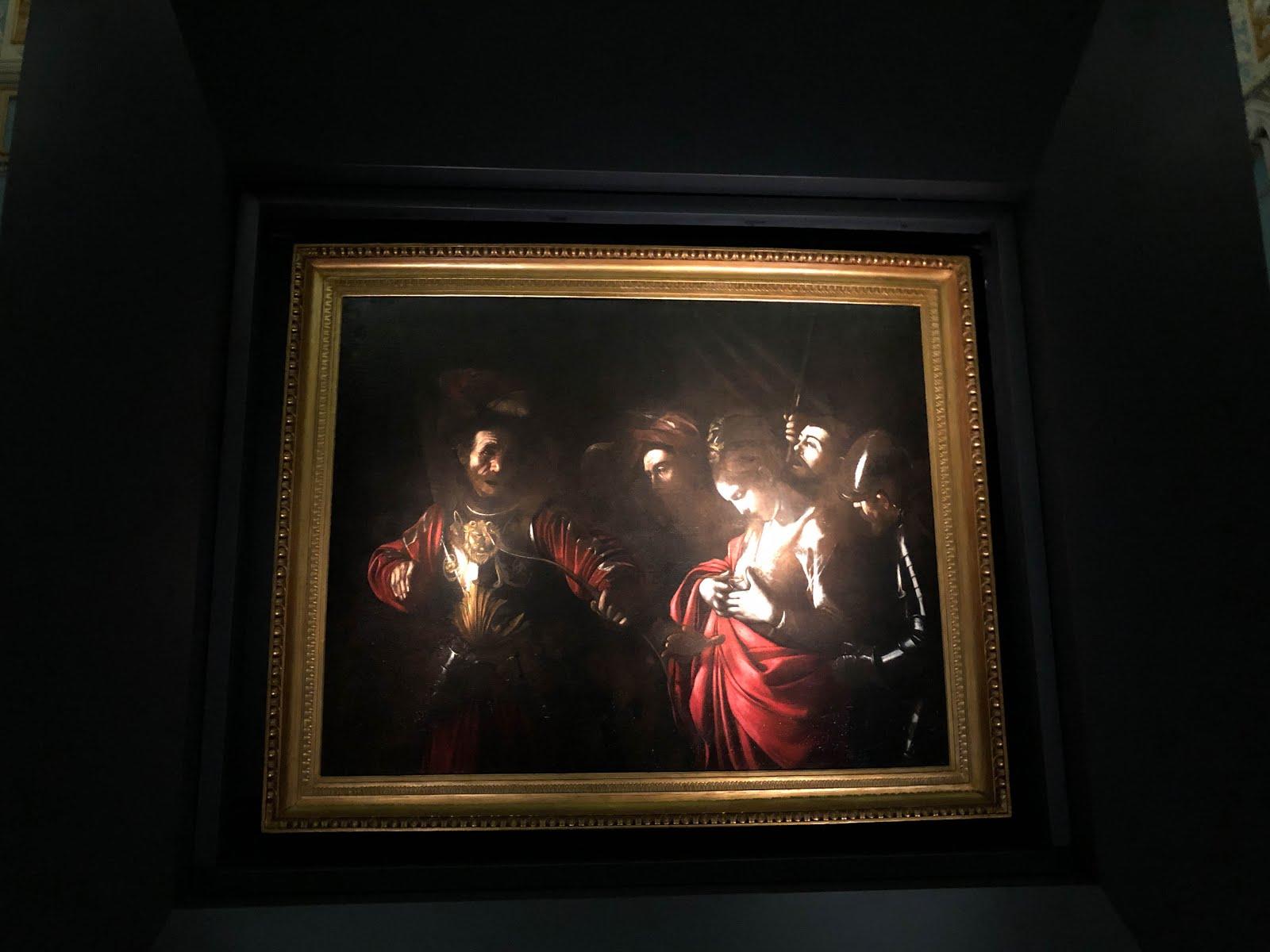 """Caravaggio, """"Martirio di sant'Orsola"""""""