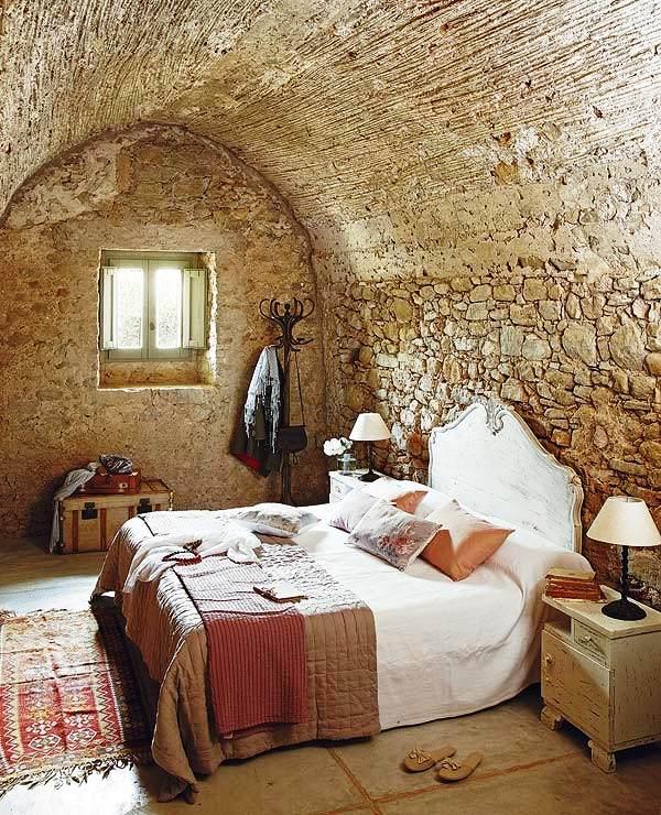 Rustic Interior Design Ideas rustic office design ideas Stone Rustic Bedroom