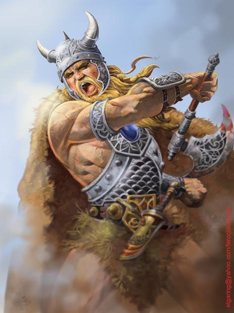 Warriors In Art El-viking El Garing