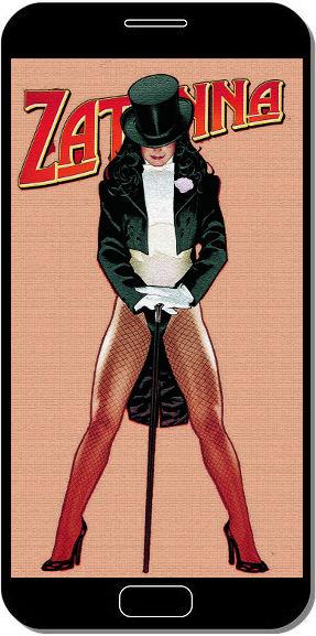 Zatanna DC Comics - Fond d'Écran en QHD pour Mobile