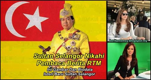 Gambar Dan Biodata Isteri Baru Sultan Selangor
