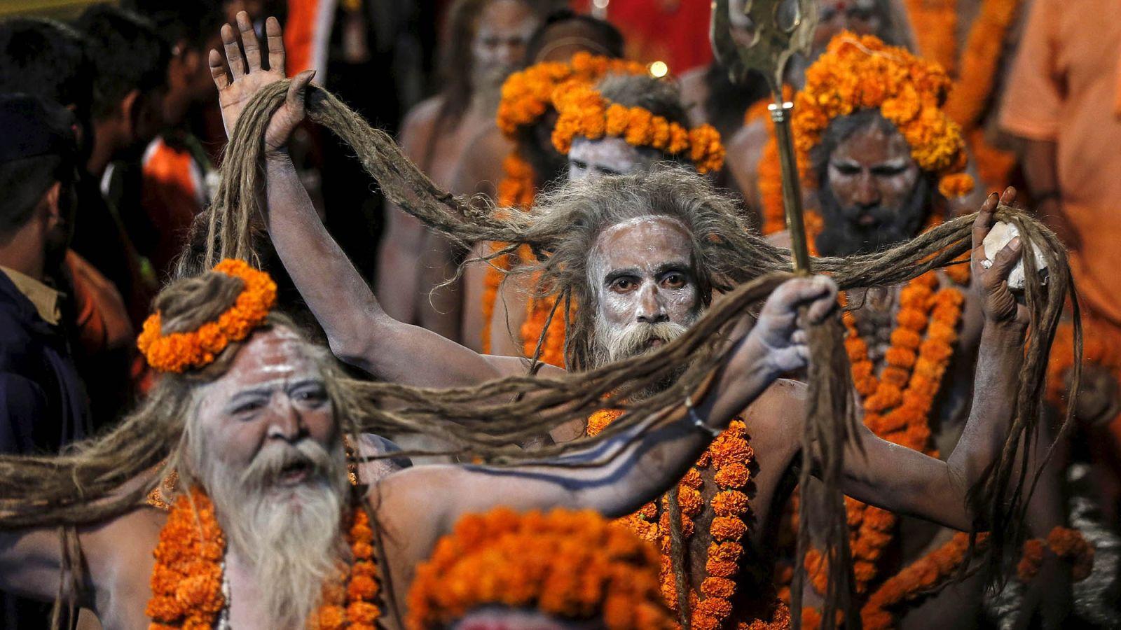 Reclusive Naga sadhus a huge draw at Kumbh Mela | News