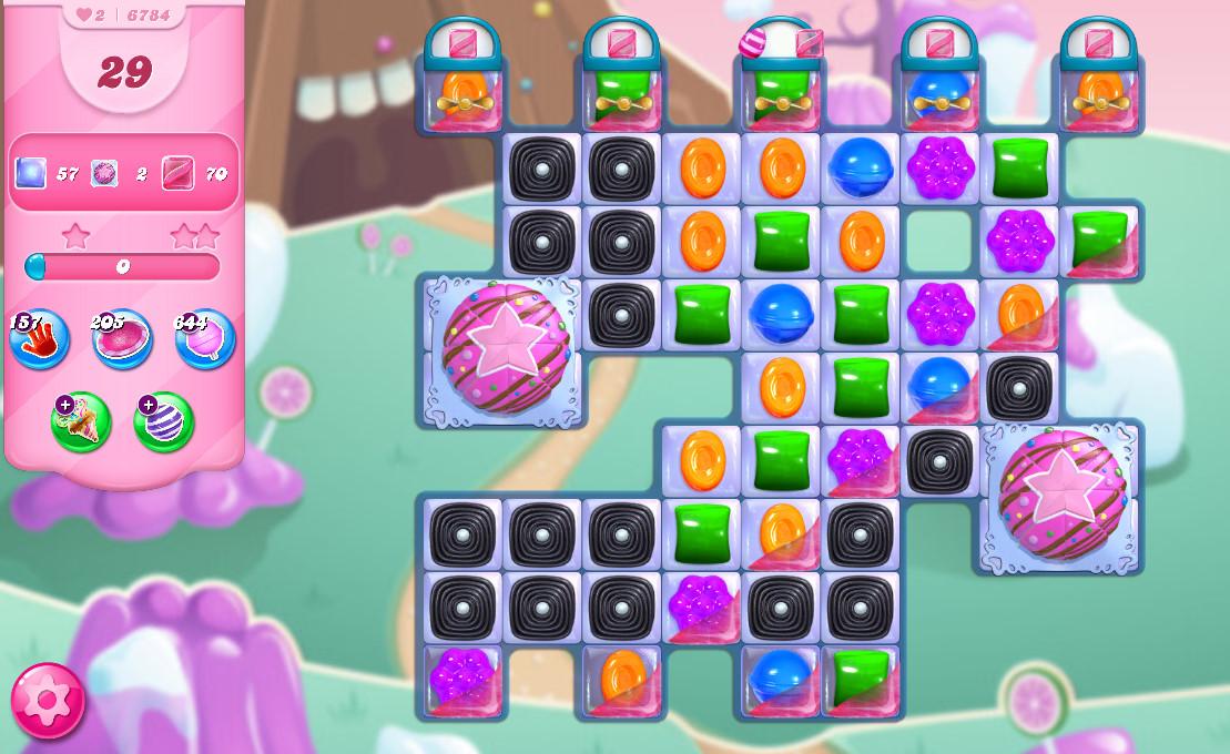 Candy Crush Saga level 6784