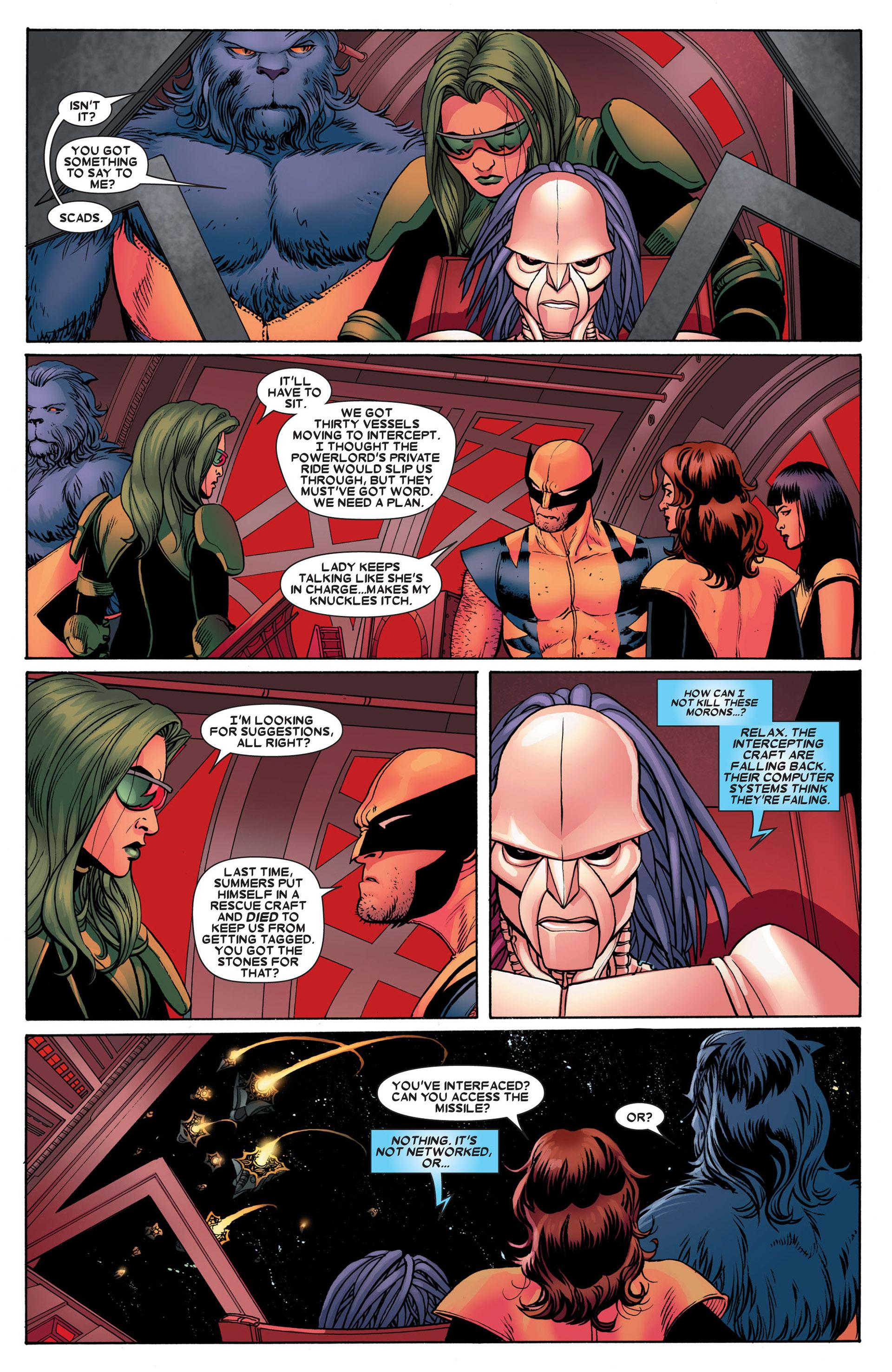 Read online Astonishing X-Men (2004) comic -  Issue #24 - 12