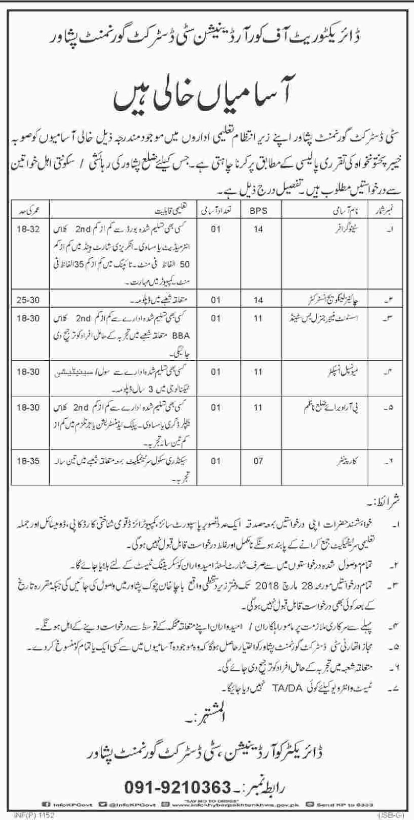 JOBS,IN,PESHAWAR