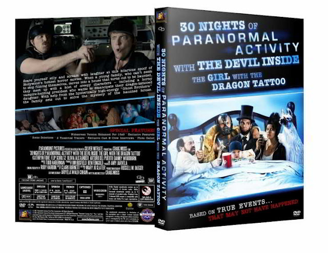 30 Nights of Paranormal Activity with the Devil Inside the Girl with the Dragon Tattoo DVDR NTSC Latino