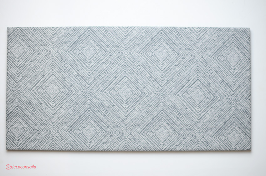 paso 2 diy colgador bisutería: tablero tapizado