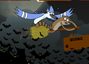 Regular Show Halloween Cave Down