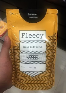Fleecy Coffee Scrub