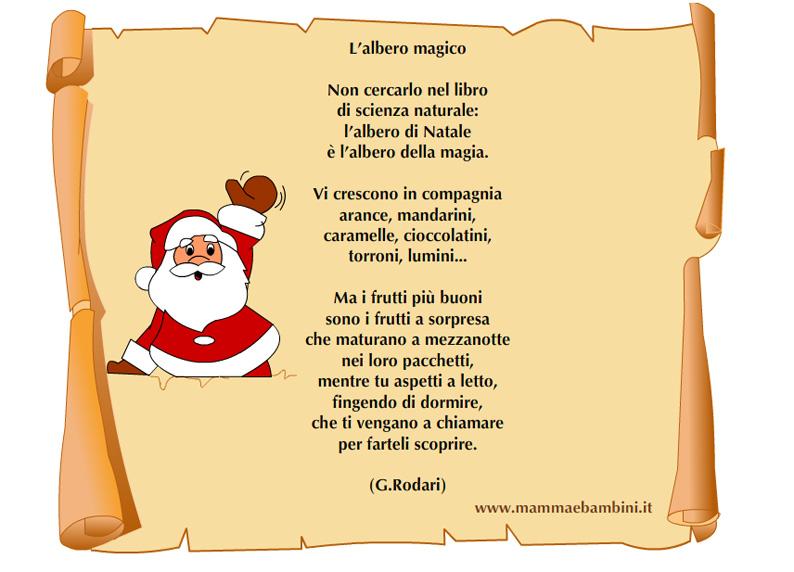 Poesia Natale Rodari.Poesia Natale Rodari