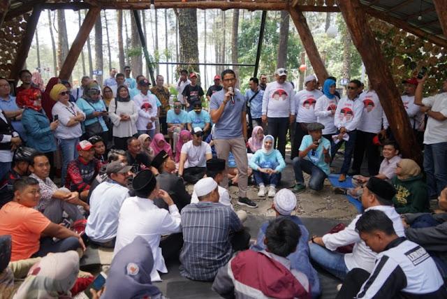 Harga Melambung, Pengusaha Muda Curhat ke Sandi