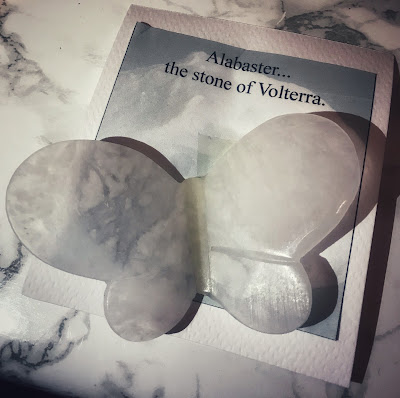 Butterfly Alabaster Stone of Volterra
