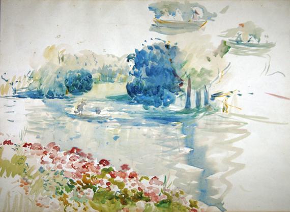 Arte Freech Impressionism Berthe Morisot
