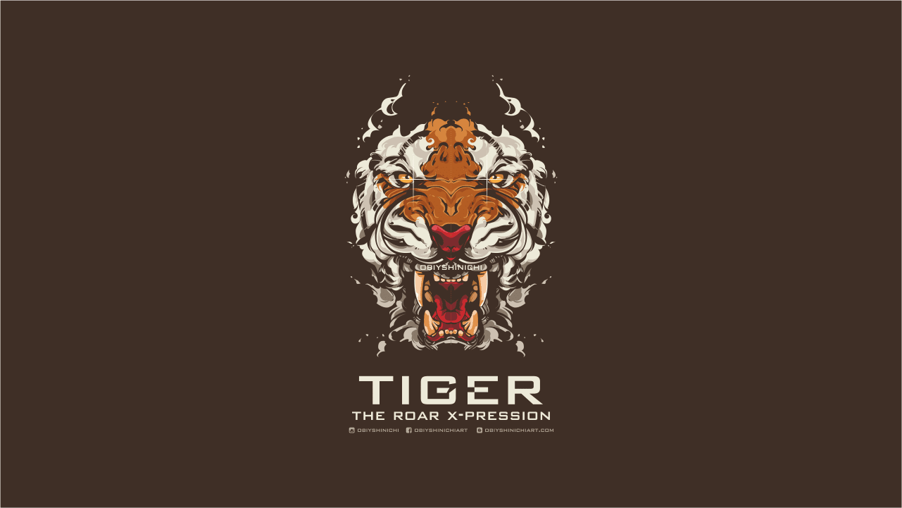 wallpaper tiger vector  tiger wallpaper android