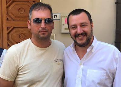 I documenti dimostrano che il responsabile del Carroccio a Rosarno, dove il ministro ha registrato un risultato record alle ultime elezioni, è stato per anni in società con uomini legati alle cosche: dal clan Pesce ai Bellocco.