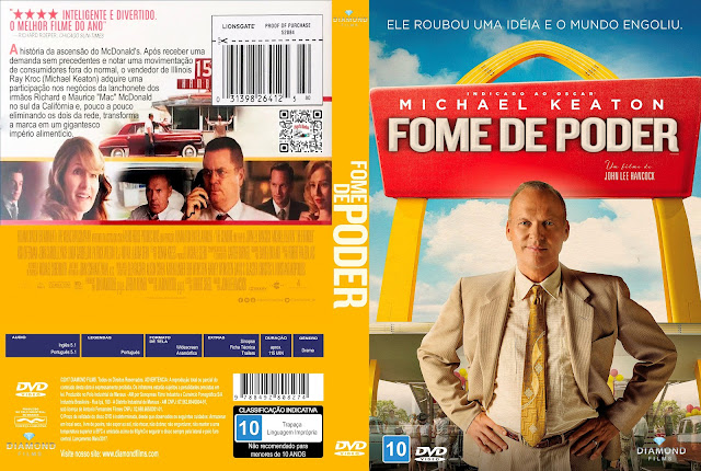 Capa DVD Fome de Poder [Exclusiva]