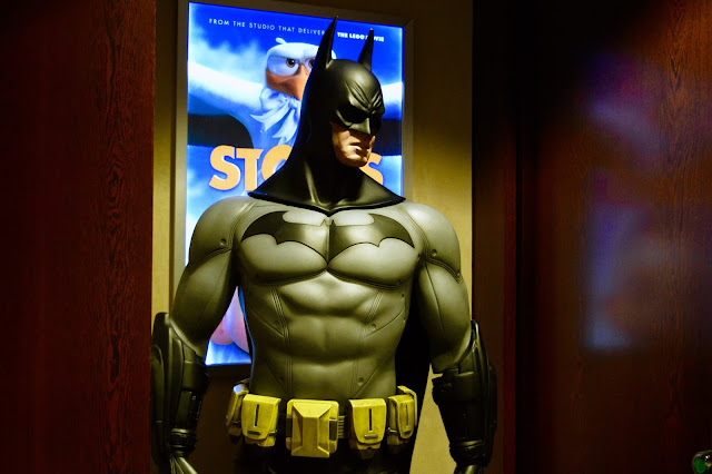 Batman at Warner Brothers Holborn