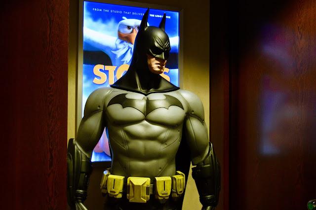 Batman at Warner Brothers Holborn