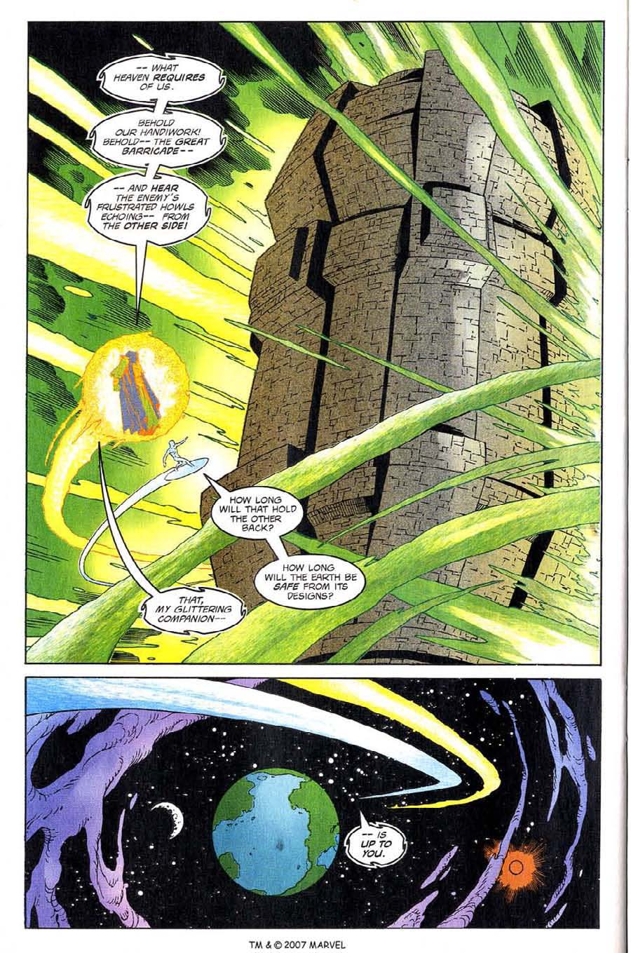 Read online Silver Surfer (1987) comic -  Issue #137 - 30