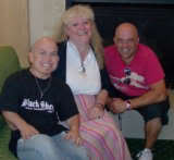 Marty Klebba and Lee Arenberg