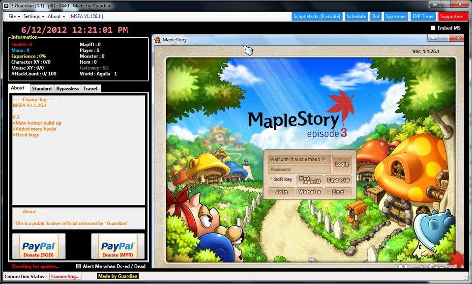 Maplestory Mouse Macro
