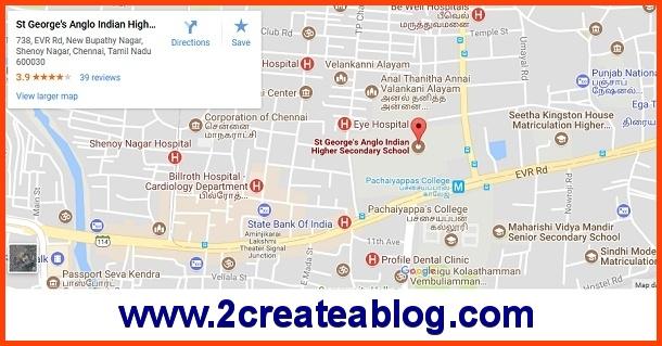 Chennai Book Fair 2018 - Location on Google Map