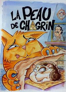 Illustration définitive couverture La Peau de Chagrin édition saperlivpopette ©Guillaume Néel