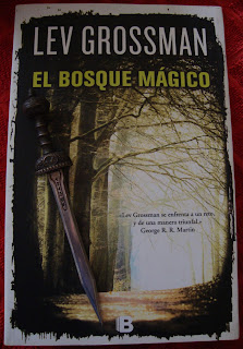 Portada del libro El bosque mágico, de Lev Grossman