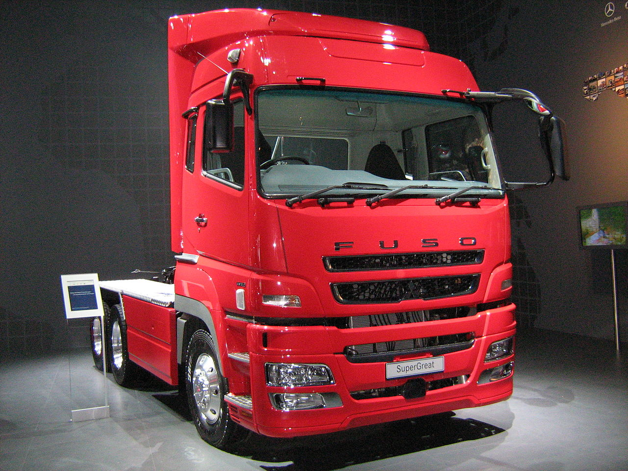 The Mitsubishi Fuso Truck and Bus Corporation (Japanese: 三菱ふそうトラック・バス株式会社  Hepburn: Mitsubishi Fusō Torakku・Basu Kabushiki gaisha?) is a ...