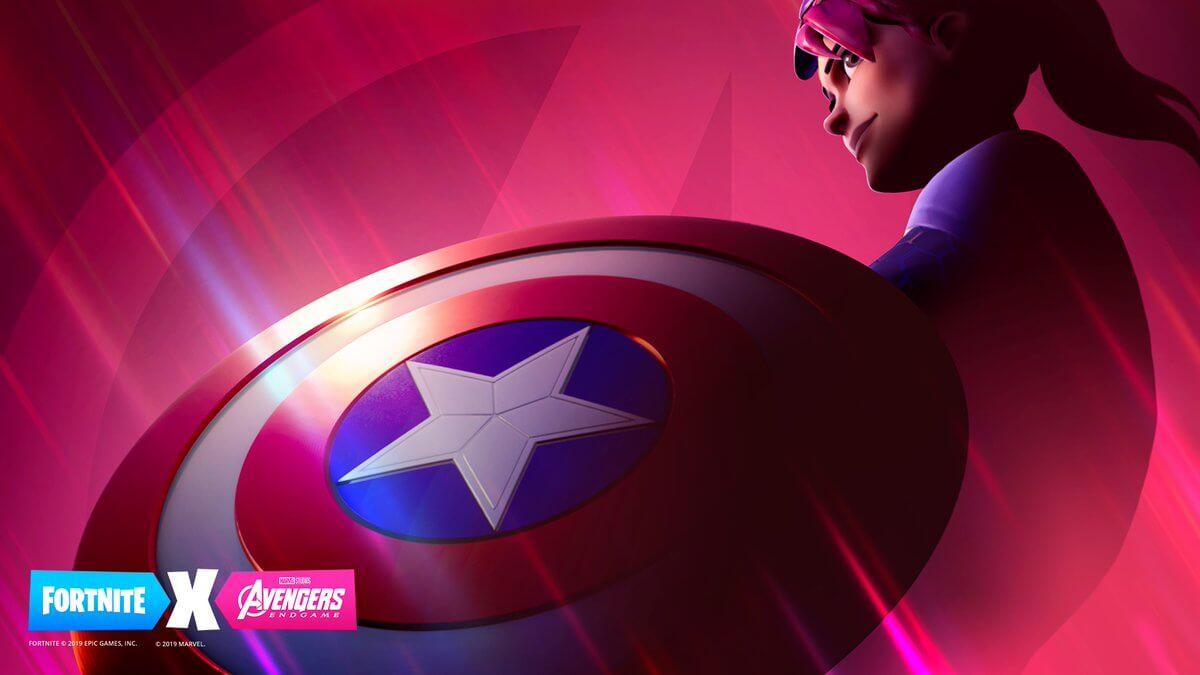 Fortnite Teases Avengers: Endgame Crossover Event