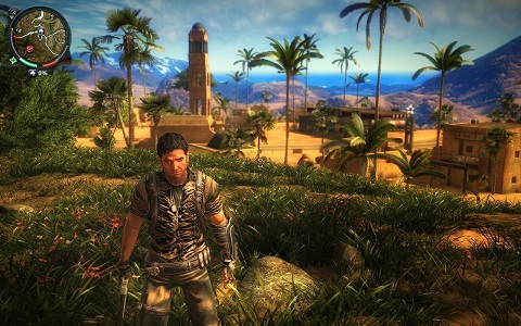 Just cause 2 Highly compressed screenshots