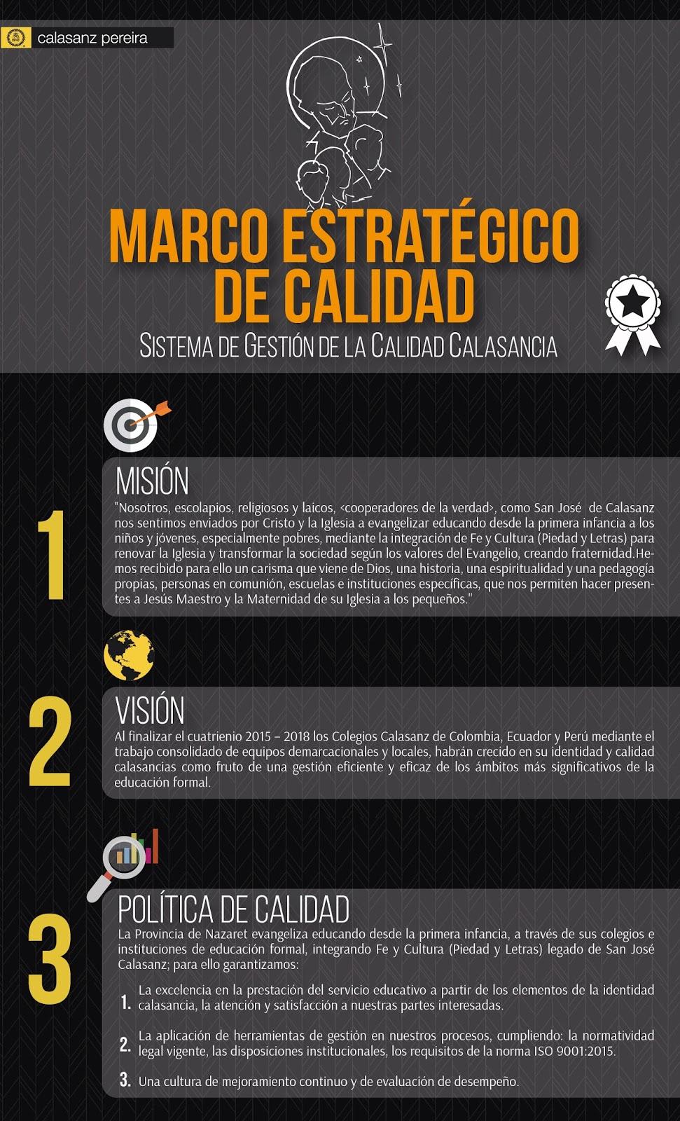 ROYAL EXPRESS: Marco Estratégico de Calidad - Colegio Calasanz
