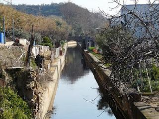Canal de la Infanta aún activo en Molins de Rei