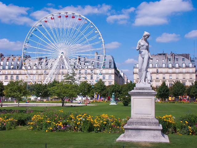 Ogrody i parki w Paryżu
