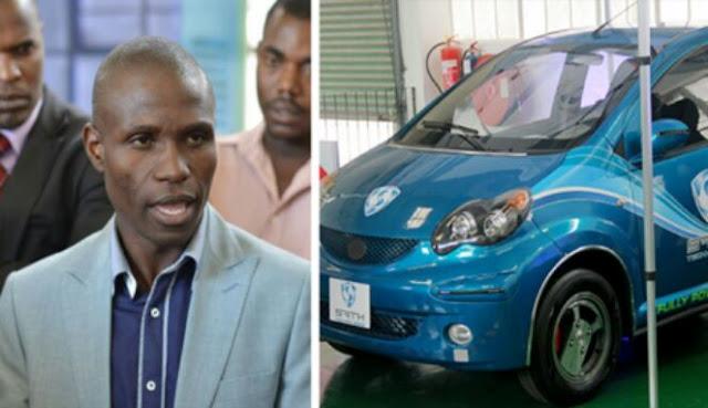 Mobil listrik free energy