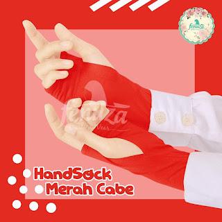 Handstock Fenuza Izzata Merah Cabe