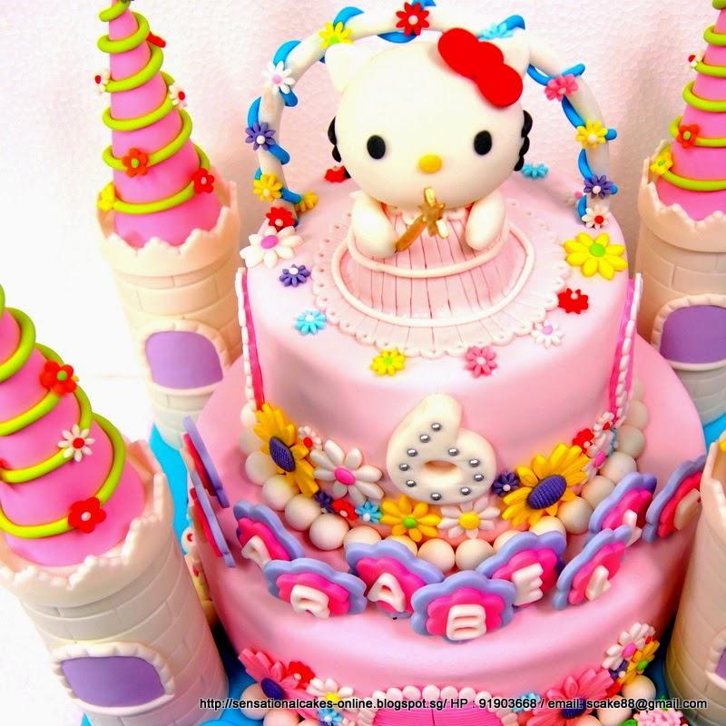 HELLO KITTY PRINCESS CAKE SINGAPORE TOWER