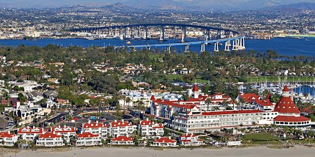 Ilha de Coronado em San Diego