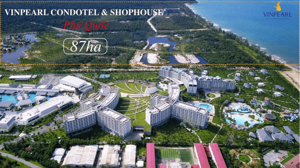 Toàn cảnh dự án Shophouse Phú Quốc