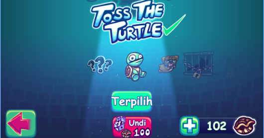 Suрer Toss The Turtle Mod Apk v1.170.2 Unlimited Money
