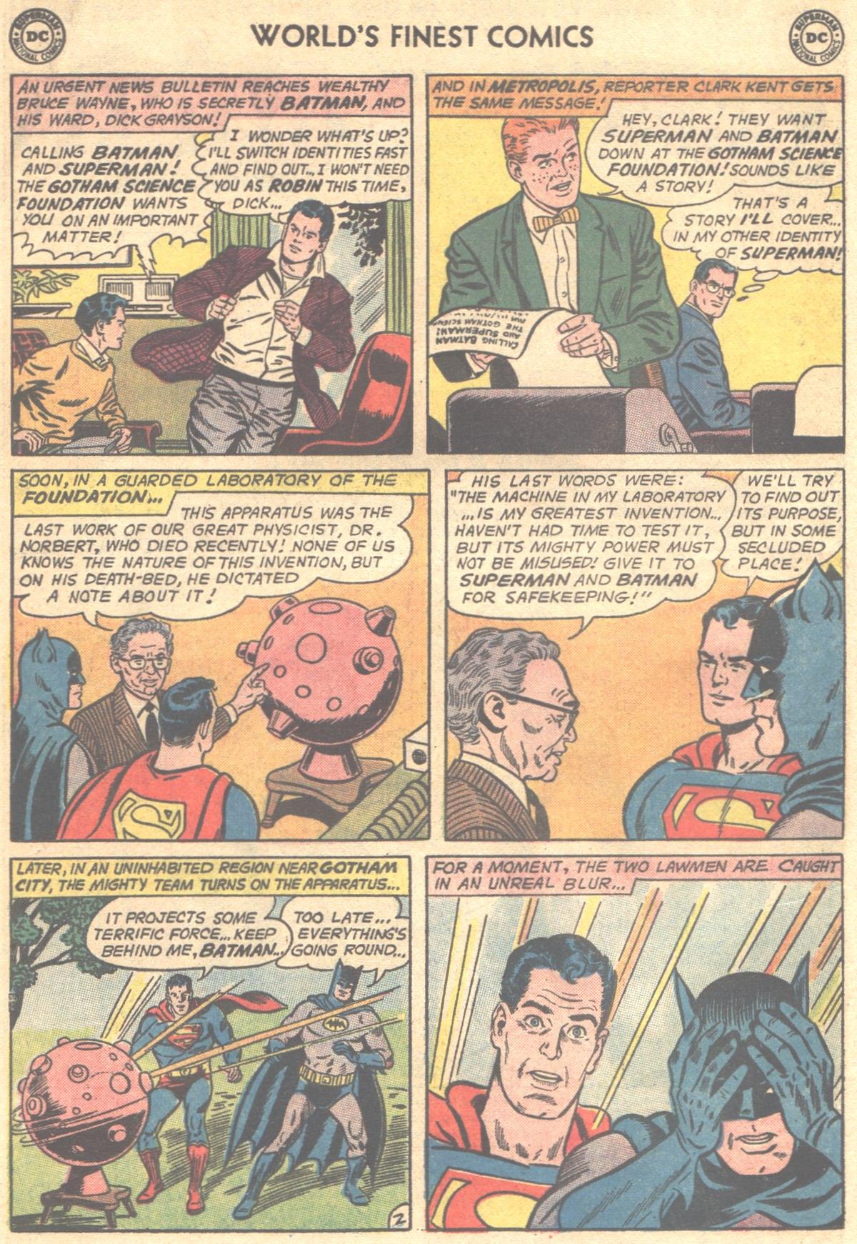 Read online World's Finest Comics comic -  Issue #148 - 4